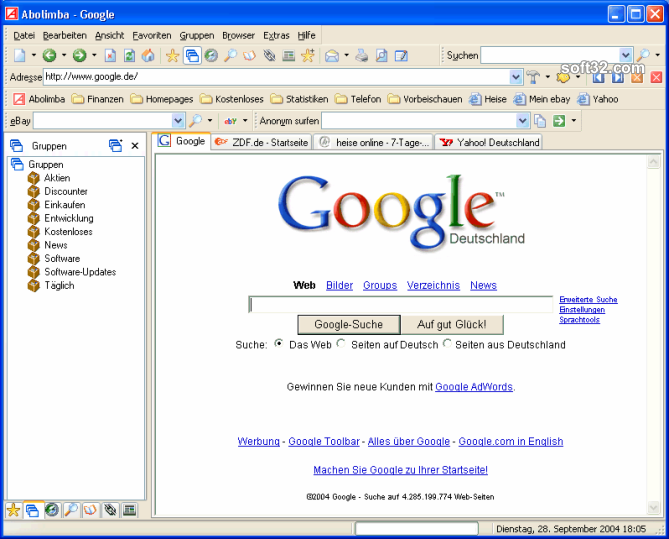 Abolimba Multibrowser Screenshot 2