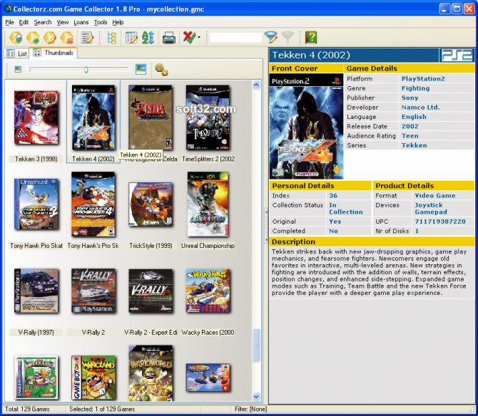 Collectorz.com Game Collector Screenshot 3