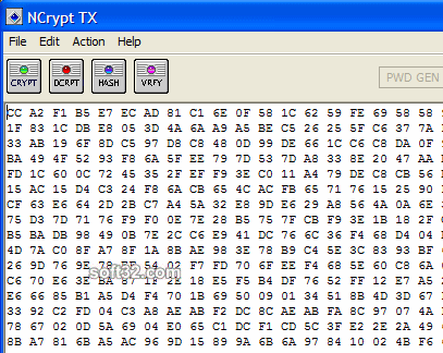NCrypt TX Screenshot 2