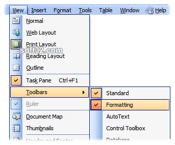 OfficeMenu Screenshot 2