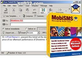 MobiSMS for Outlook Screenshot