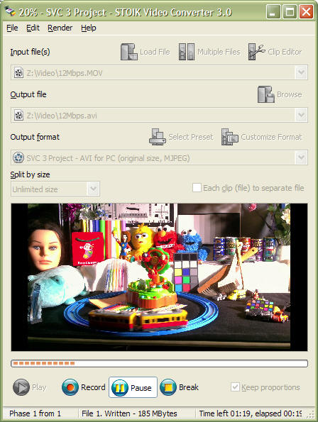 STOIK VideoConverter Screenshot 1