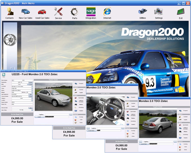 Dragon2000 Stockbook Screenshot 1