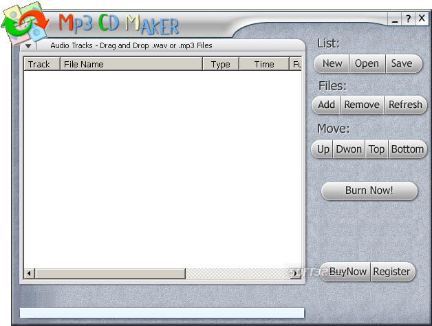 CD BurnRip Screenshot 3