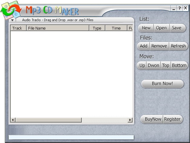 CD BurnRip Screenshot