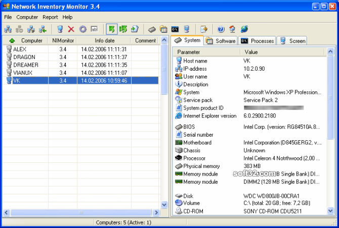 Network Inventory Monitor Screenshot 3