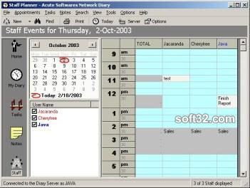 Network Diary Screenshot 3