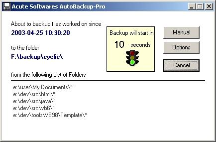 Autobackup-Pro Screenshot