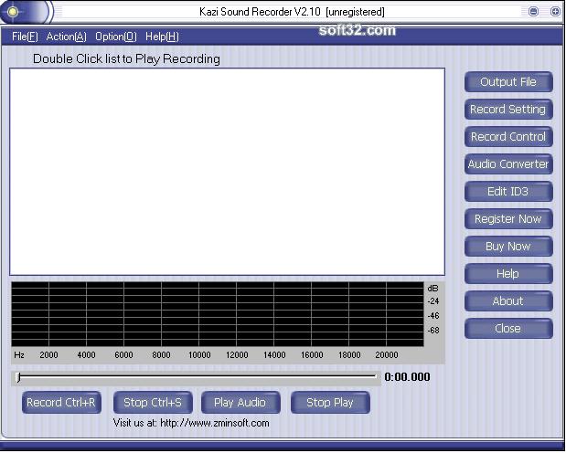 Kazi Sound Recorder Screenshot 2