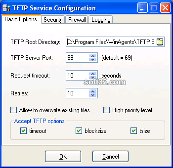 WinAgents TFTP Server Screenshot 3