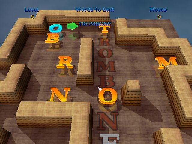 3D Word Slider Screenshot