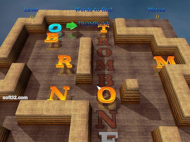 3D Word Slider Screenshot 2