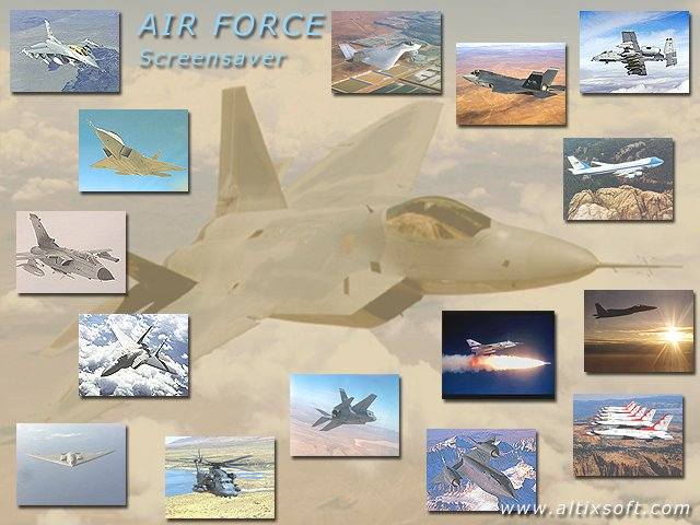Air Force Screensaver Screenshot 1