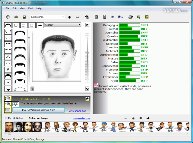 Digital Physiognomy Screenshot 4
