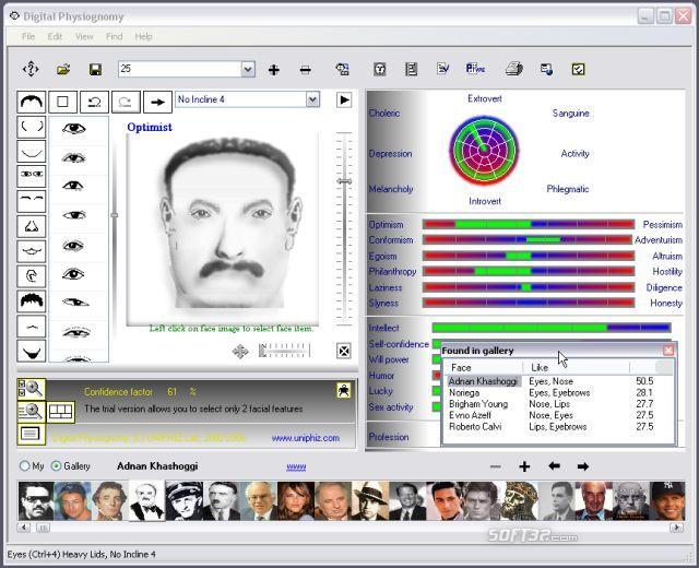 Digital Physiognomy Screenshot 5