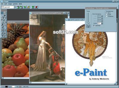 AMC e-Paint Screenshot 2