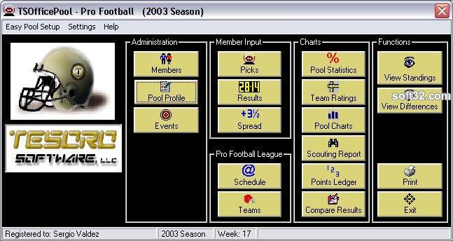 TSOfficePool - Pro Football Screenshot 3