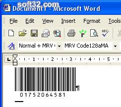 Morovia Code 128 Barcode Fontware Screenshot 3
