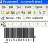 Morovia Code 25 Barcode Fontware 1