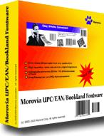 Morovia UPC-A/UPC-E/EAN-8/EAN-13/Bookland Barcode Font Screenshot