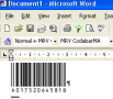 Morovia Codabar Barcode Fontware 2