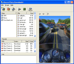 Abacre Photo Downloader Screenshot