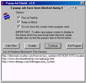 Popup Ad Shield Screenshot 3
