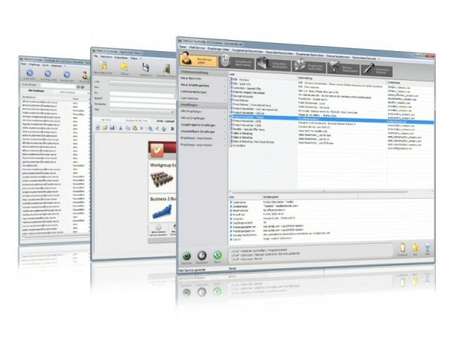 MailList Controller Free Screenshot 1