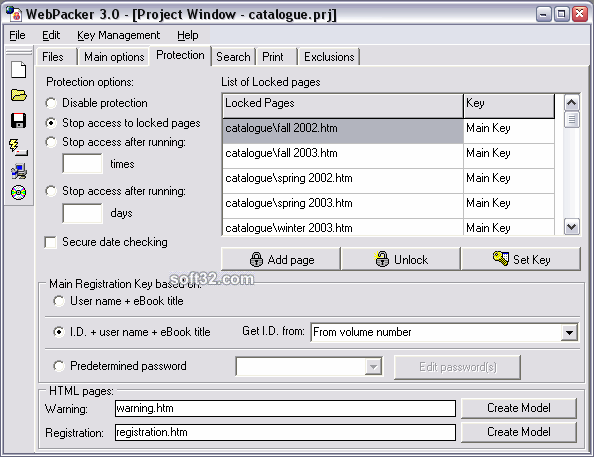 WebPacker Screenshot 1
