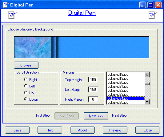 Camtech Digital Pen Screenshot