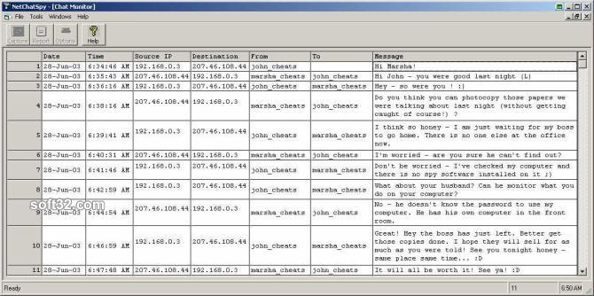 NetChatSpy Screenshot 3