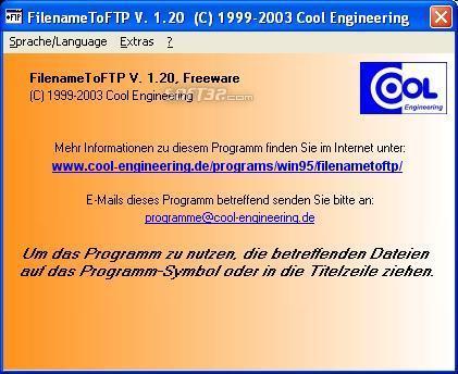 FilenameToFTP Screenshot 3