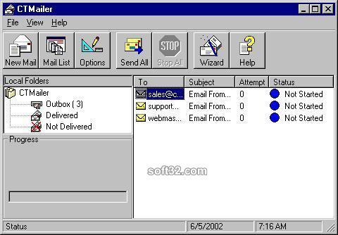 CTMailer Screenshot 3