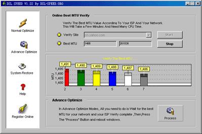 DSL Speed Screenshot 3