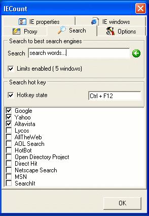 IECount Screenshot 1
