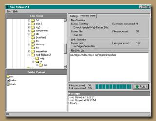 Site Refiner Screenshot 1