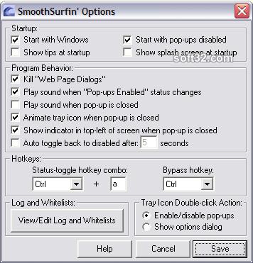 SmoothSurfin Screenshot 2