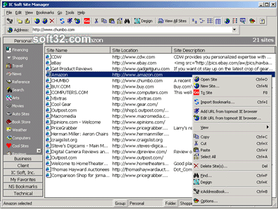 IC Soft Site Manager Screenshot 2