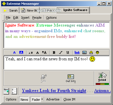 Extreme Messenger for AIM Screenshot 2