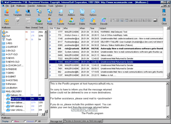 Mail Commander Pro Screenshot 3