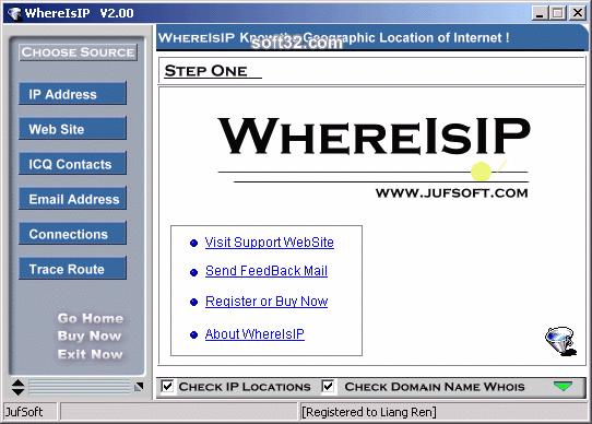 WhereIsIP Screenshot 3