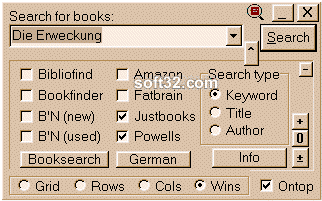 Booksearch Screenshot 2