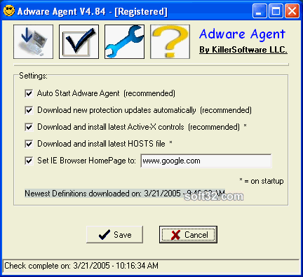 Adware Agent Screenshot 2