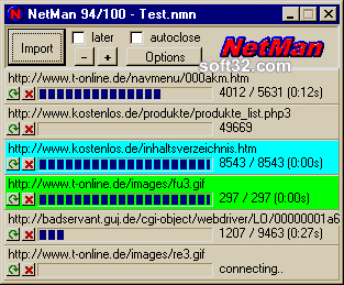 KIPPING's NetMan Screenshot 3