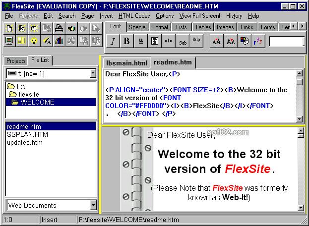 FlexSite Screenshot 2