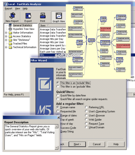 FastStats Analyzer Free Screenshot 2