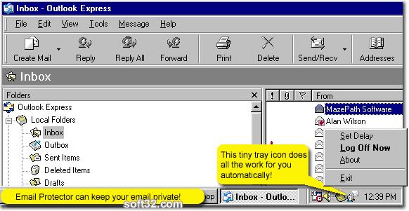 Email Protector Screenshot 3