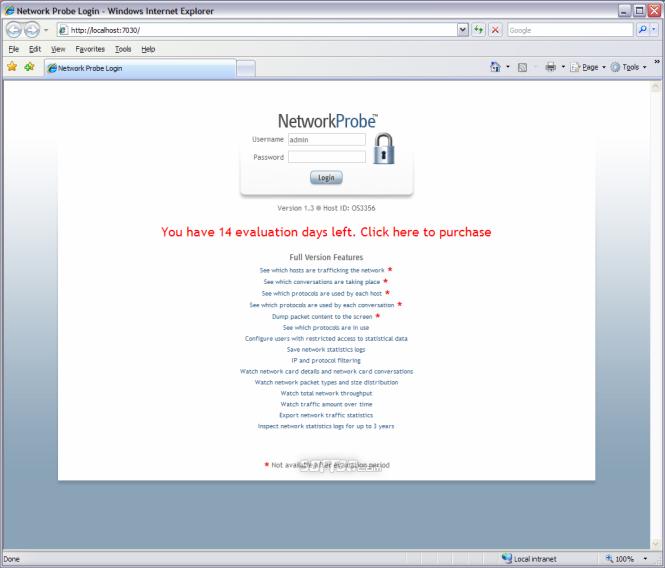 Network Probe Screenshot 2