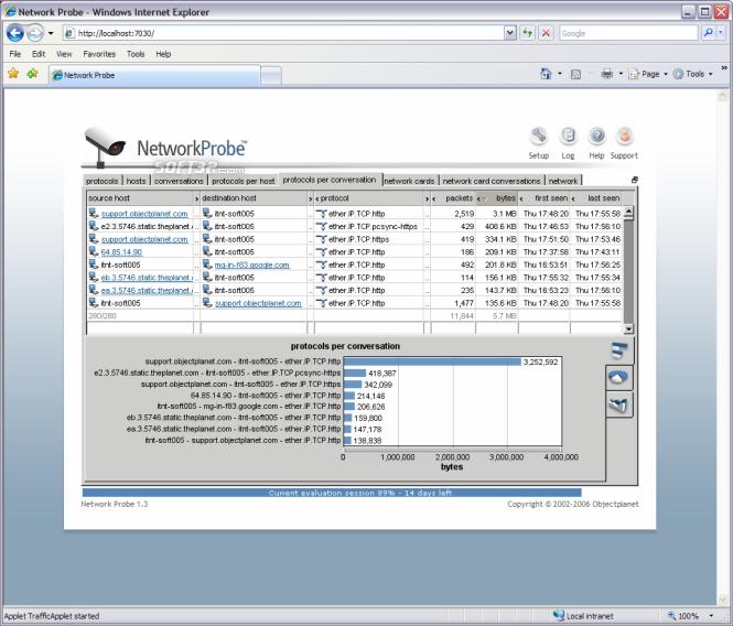 Network Probe Screenshot 3