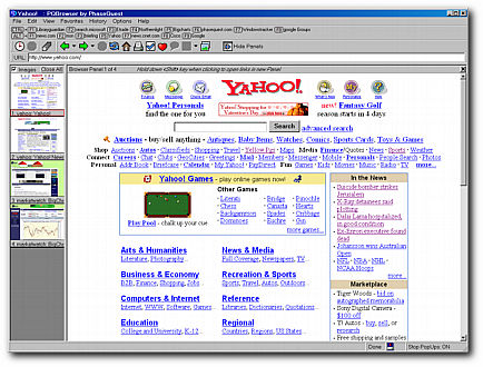 PQBrowser Screenshot